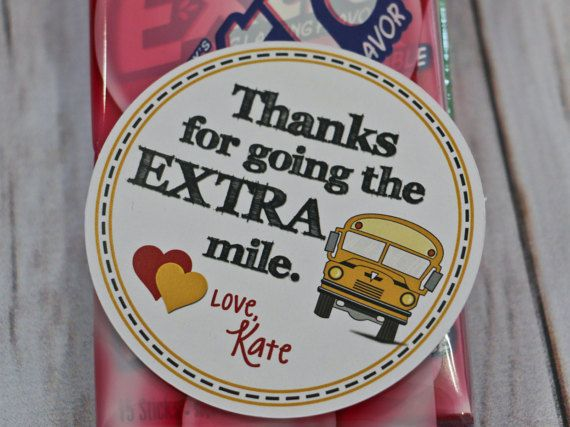 Finally something cute for the bus driver! Valentine Printable Bus Driver Valentine/Thank by LaurelStDesigns