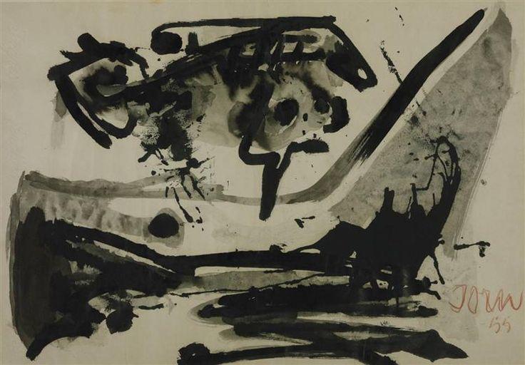 El Vuelo Negro, 1955 - Asger Jorn