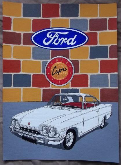 Ford Consul Capri