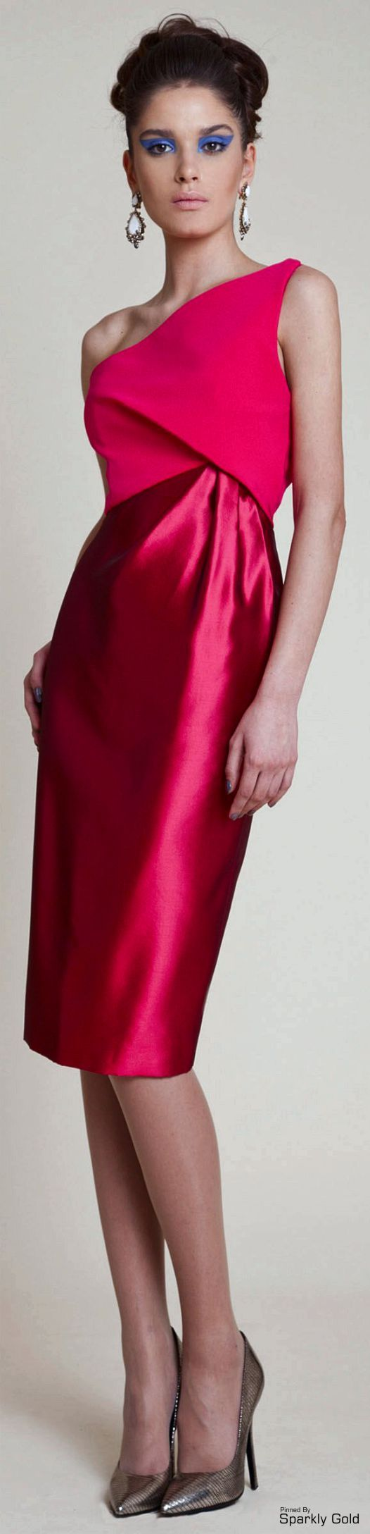 women fashion outfit clothing style apparel @roressclothes closet ideas Azzi & Osta S/S 2014