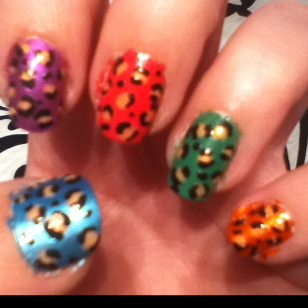 Cant afford those expensive designer bags? Check here!  Leopard nail art!: Style, Artastic Ideas, Art Ideas, Leopard Nails, Leopards, Nail Ideas, Leopard Nail Art, Art Nails
