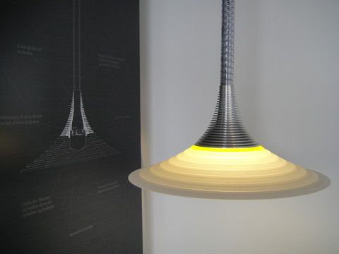 Lighting Fixtures Fiber optic / LED hybrid armature developed by Kent Laursen