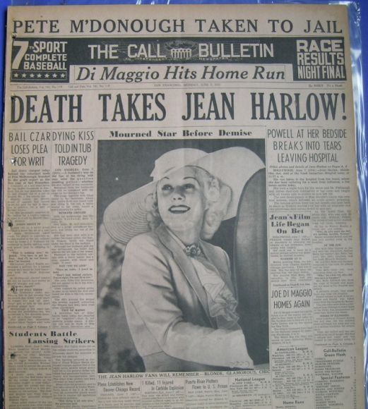 jean harlow death photos - Yahoo Image Search Results