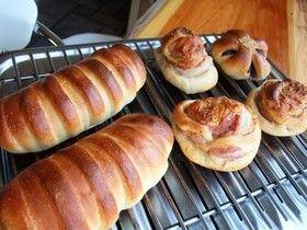 基本のパン生地(卵なし)