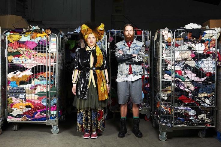 Shoot, 2012, TRAID Warehouse