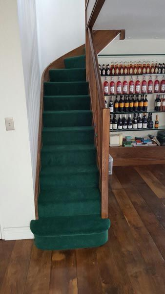Best 7 Best Green Carpet To Stairs Images On Pinterest Green 400 x 300