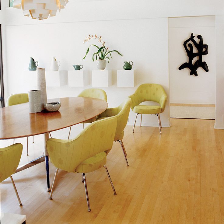 """Florence Knoll 78"""" Oval Table"""