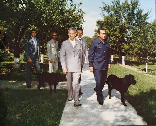 Hosni Mubarak Nicolae Ceausescu