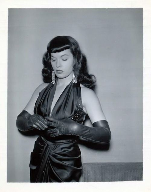 363 best images about Bettie Page - Early years, satin and ...