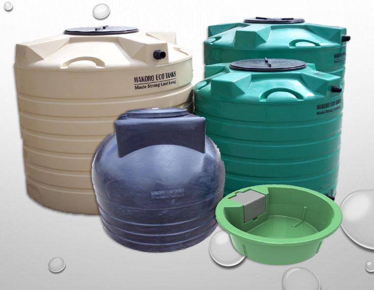 Makoro Water storage tanks