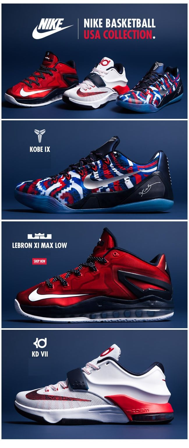 Nike Basketball USA Collection