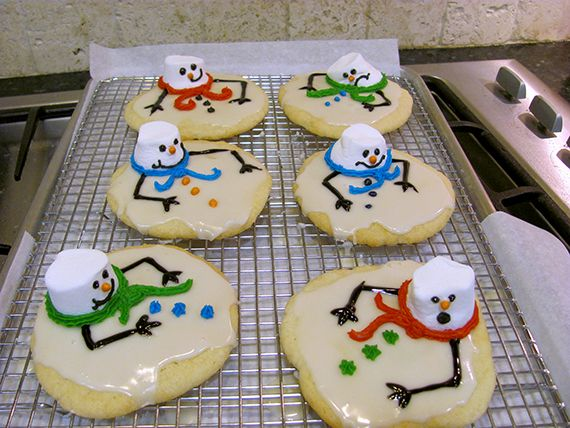Melted Snowman Cookies Recipe | My Imperfect Kitchen