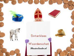 Sinterklaas Woordenschat oefenen