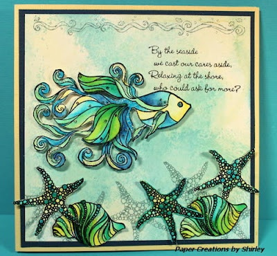 86 best images about Cards - Under the Sea on Pinterest | Seaweed ...