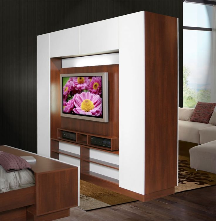 Bronson Room Divider - Wall Unit Room Divider | Contempo Space