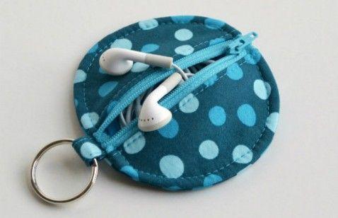 Handmade Gifts: 10 DIY Stocking Stuffers - i like this ear bud holder idea