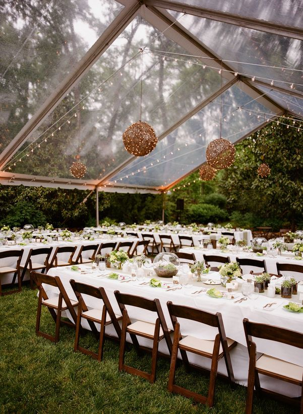 Love this kind of tent because it looks nothing like a tent! Photo by Kate Murphy.