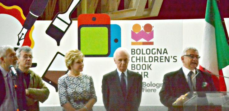 24 Marzo 2014. Cerimonia di apertura. #BolognaBookFair