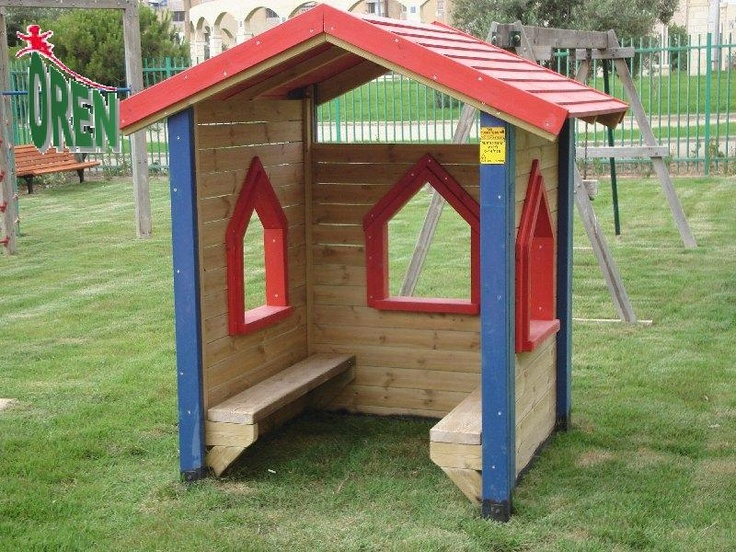 some style ideas for a small playhouse toddler playground brainstorm pinterest kid toys. Black Bedroom Furniture Sets. Home Design Ideas