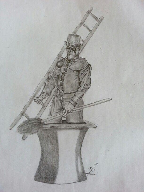 Chimney sweeper. ..