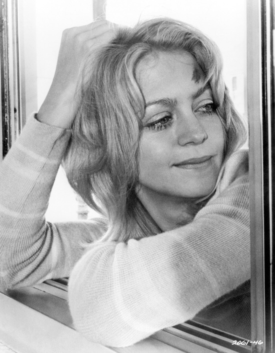 Rare photograph of Goldie Hawn as Lou Jean Poplin in Steven Spielberg's first theatrical feature film, The Sugarland Express.