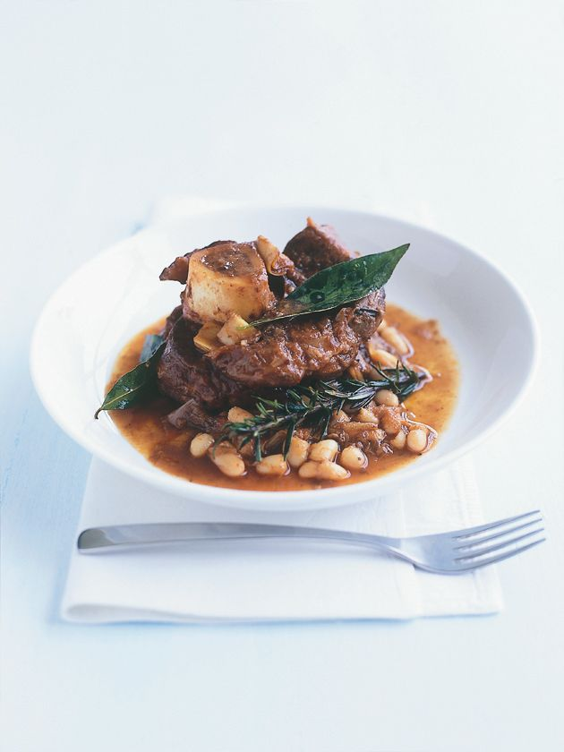Slow-cooked veal in red wine - Donna Hay.