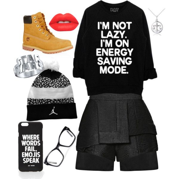 Awkward by royalty304 on Polyvore featuring polyvore, fashion, style, E L L E R Y, Timberland, Spitfire, Jac Vanek and Lime Crime