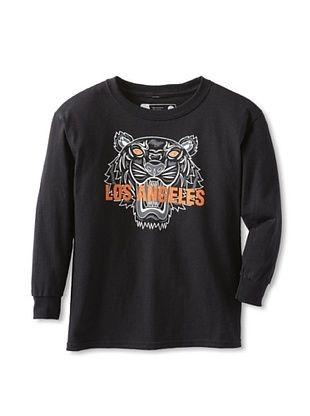71% OFF Little Dilascia Kid's Los Angeles Tiger Long Sleeve Tee (Black)