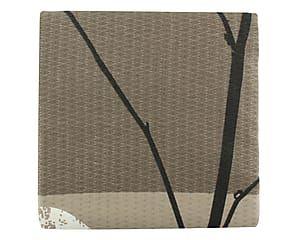 Copriletto matr. in cotone Beleza grigio - 220x260 cm