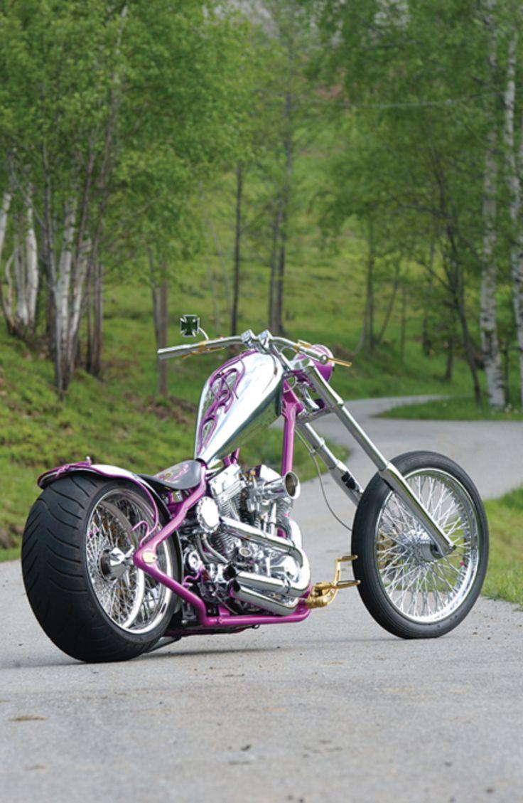 Chrome Custom Chopper.    http://custom-motorcycle-parts.com/galleries-show-bikes-events/eurocomponents-show-custom-motorcycles/chrome-custom-chopper/