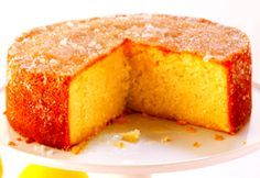 Slimming recipe: Slimming World Lemon Drizzle Cake