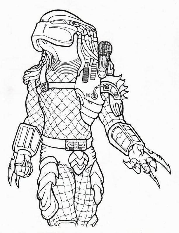 Predator Coloring Pages Predator Artwork Predator Art Predator