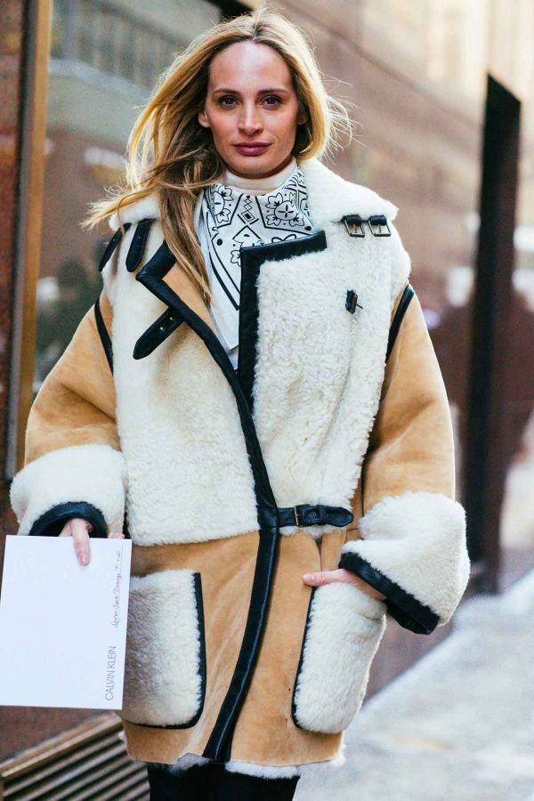 Fur coats can NEVER go out of style.