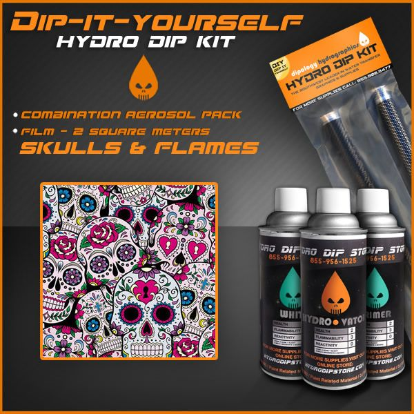 Hydro dipping , also known as hydrographics, immersion printing or water transfer printing is a method of applying a PVA hydrographic film to solid objects
