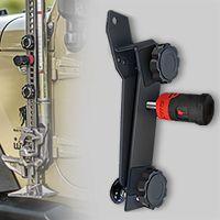 BOLT J-Mount Hi-Lift Jack Mount for 97-17 Jeep Wrangler TJ, LJ, JK & JK Unlimited