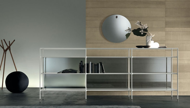 WIND BOOKCASE by RIMADESIO available at Haute-Living.com