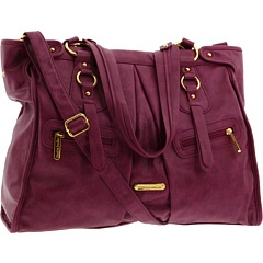 timi & leslie, 'dawn' diaper bag in raspberry.. much more spacious than the 'charlie II'. ($150)