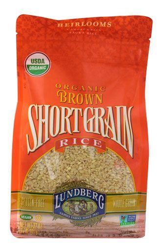 Lundberg Organic Short Grain Brown Rice -- Yummy!