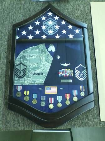 military shadow box ideas navy