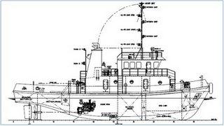 26.8 m 1280HP Tug Boat