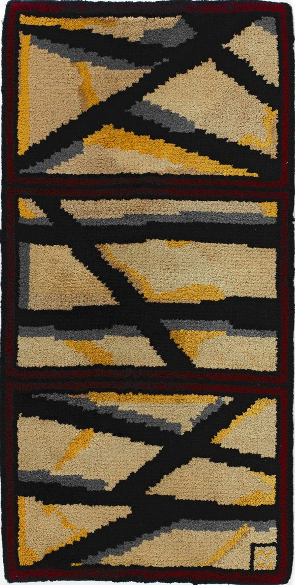 Vanessa Bell for Omega Workshops, Lady Hamilton Rug.