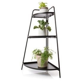 3-Tier Corner Plant Stand