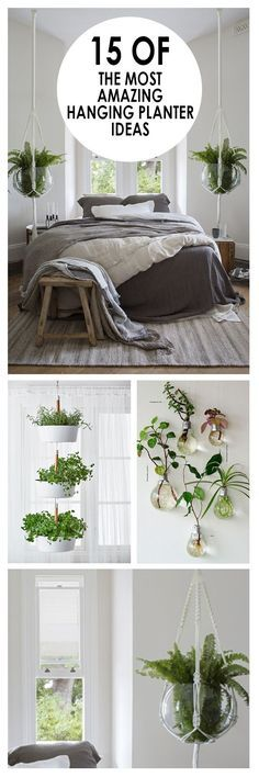 15 of the Most Amazing Hanging Planter Ideas – pflanzen im raum…