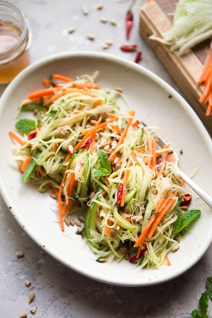 Green Papaya Salad Vegan