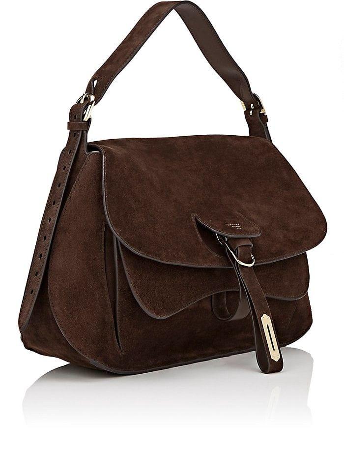 Fontana Milano 1915 Wight Medium Saddle Hobo Bag - Dk.brown 1 Sz Dark Brown fe897b2c1