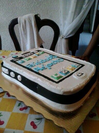 Pastel de celular
