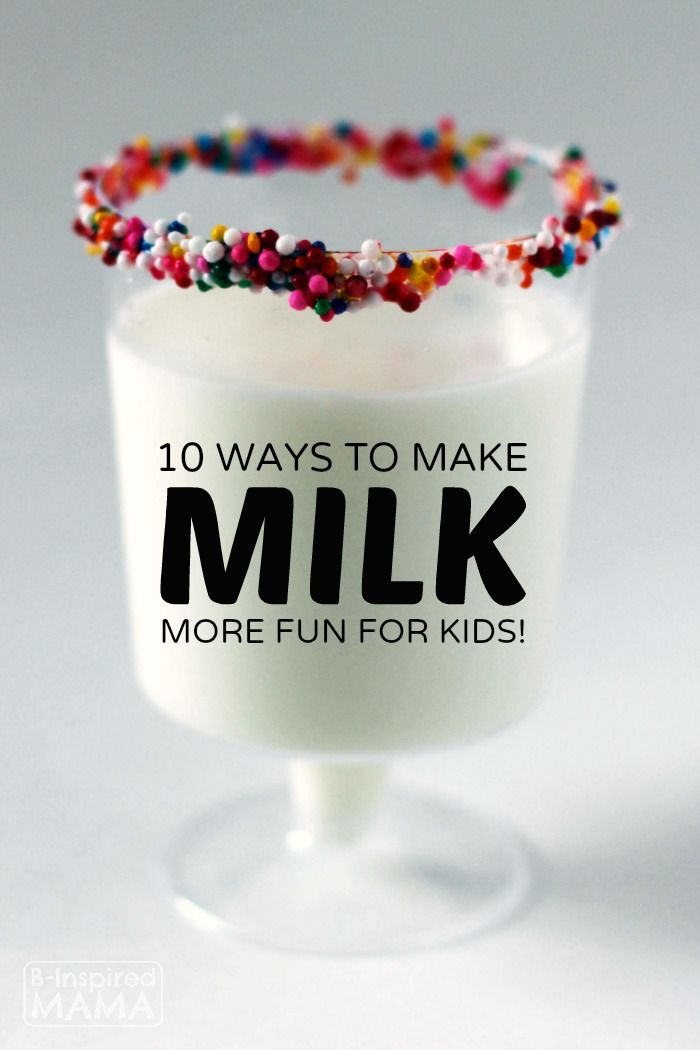 10 Ways to Make Milk Drinking More Fun for Kids at B-Inspired Mama - Sponsored by The National #MilkLife Campaign
