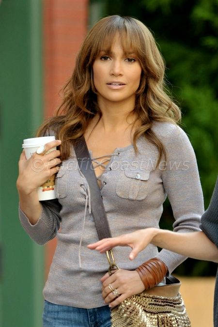 the back up plan jennifer lopez hair   Gallery: Jennifer Lopez on Set of 'The Back-Up Plan'