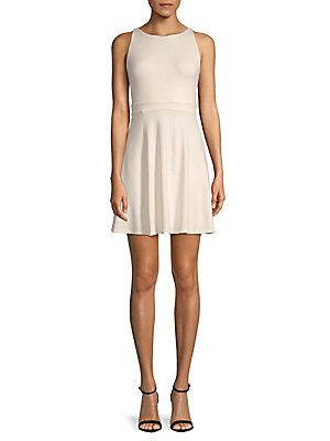 SUSANA MONACO ESTELLA CUTOUT SLEEVELESS DRESS. #susanamonaco #cloth #