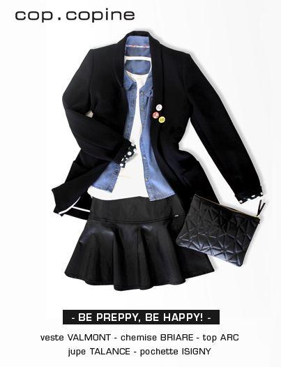 -Be preppy, be happy!- un look pepsy et résolument frais